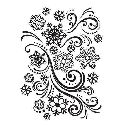 Snowflake Embossing Folder by Darice