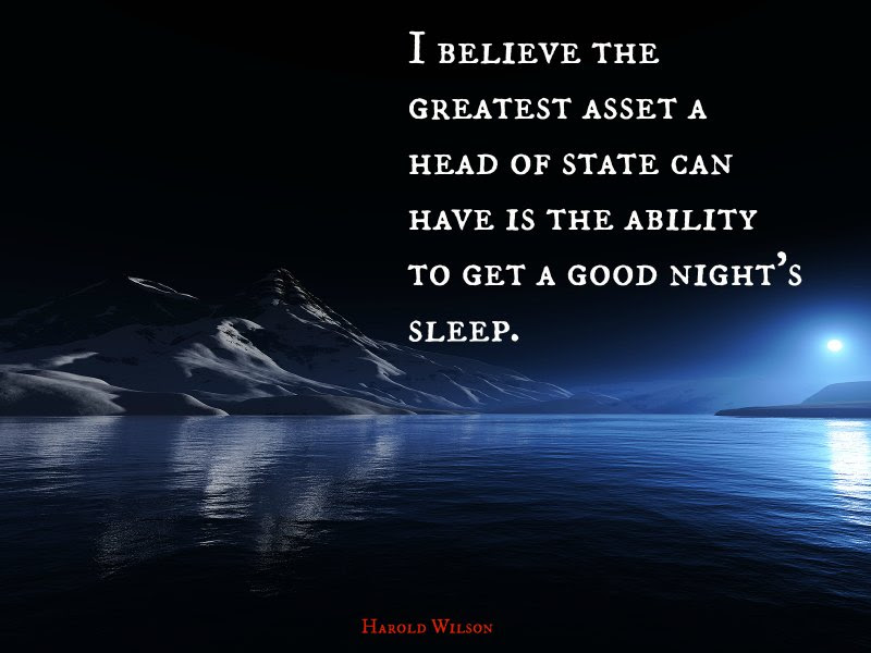 Quotes About Good Night Sleep 63 Quotes