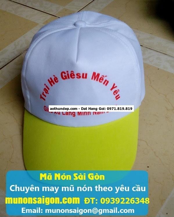 công ty may nón uy tín - Áo Thun Đồng Phục ms 04