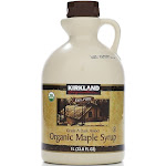 Kirkland Signature Organic Maple Syrup, Grade A Amber - 33.8 fl oz jug