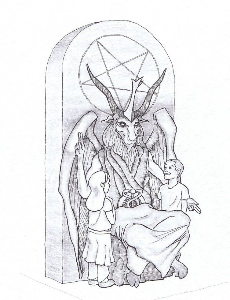 Το υπό έγκριση σχέδιο  του   Σατανικού μνημείου