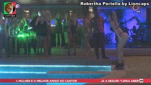 Robertha Portella super sensual na novela Segundo Sol
