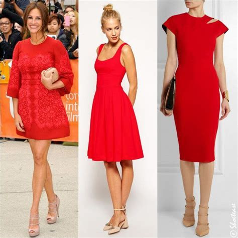 Best Picks: What Color Shoes to Wear with Red Dress   red