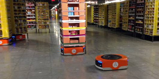 Amazon Releasing 15,000 Robots In Its Warehouses