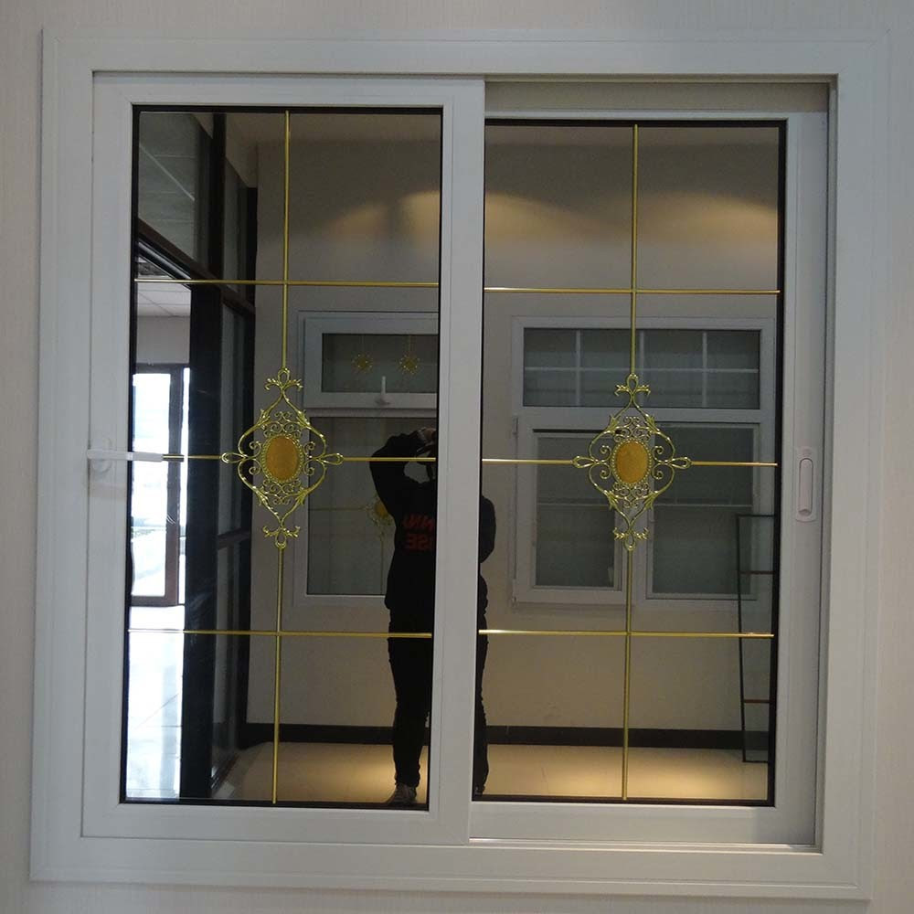 Fancy China Pvc Sliding Glass Window Grill Designs Home Distributor Intended For Glass Window Design Home Ideas House Generation