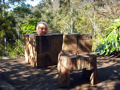 Feral Hippy Furniture by ring wood.