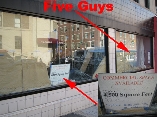 Five Guys Space