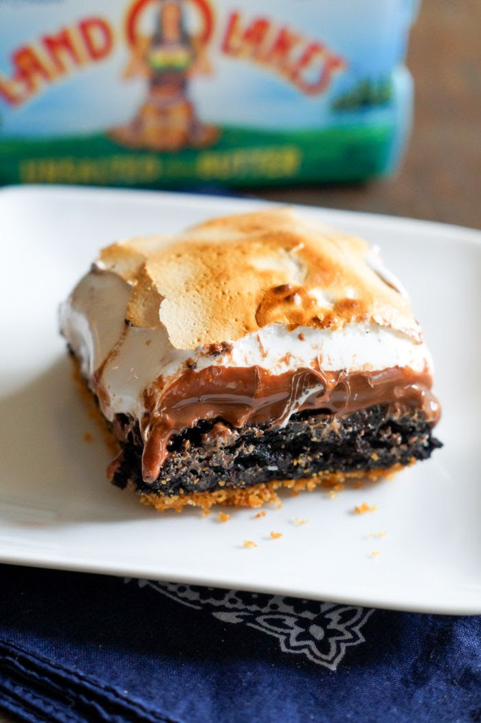 S'mores Brownies > the ultimate s'mores for indoors! Ooey, gooey, melty perfection!