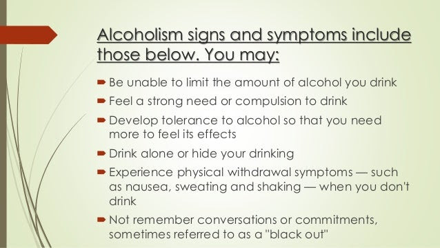 Image result for alcoholism symptoms and effects