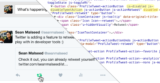 "How to Use Twitter's Unreleased ""Retweet Yourself"" Feature"
