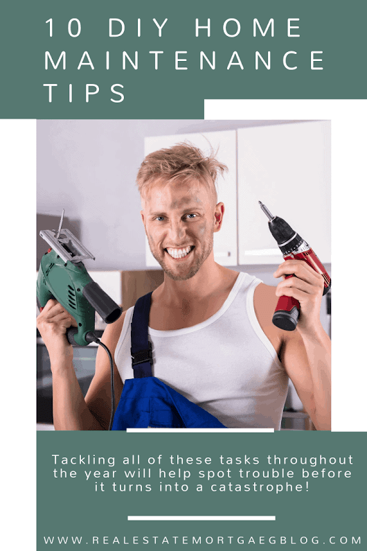 10 DIY Home Maintenance Tips