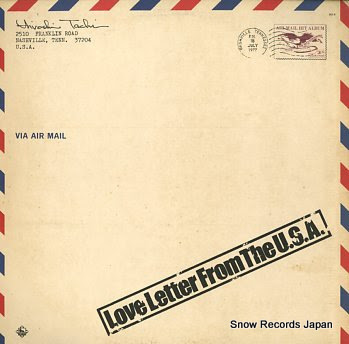 舘ひろし love letter from the u.s.a. Vinyl Records