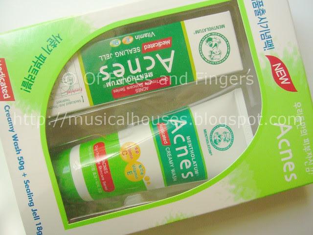 mentholatum acnes creamy wash sealing jell 1
