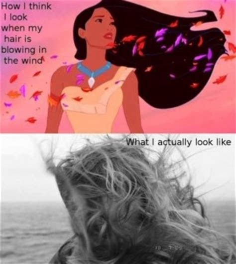 Wind Blowing Hair Quotes