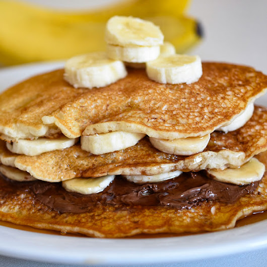 How to Make Banana Pancakes out of Pancake Mix - Live Like You Are Rich