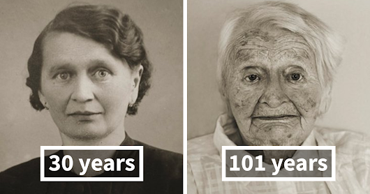 Stunning Portraits Reveal How People Age From Being Young Adults To 100-Year-Olds