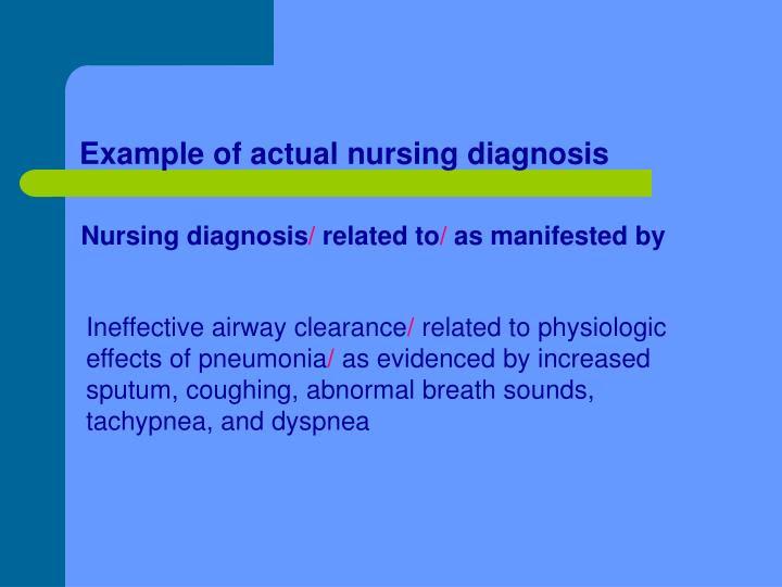 PPT - Nursing Care Plan PowerPoint Presentation - ID:1750507