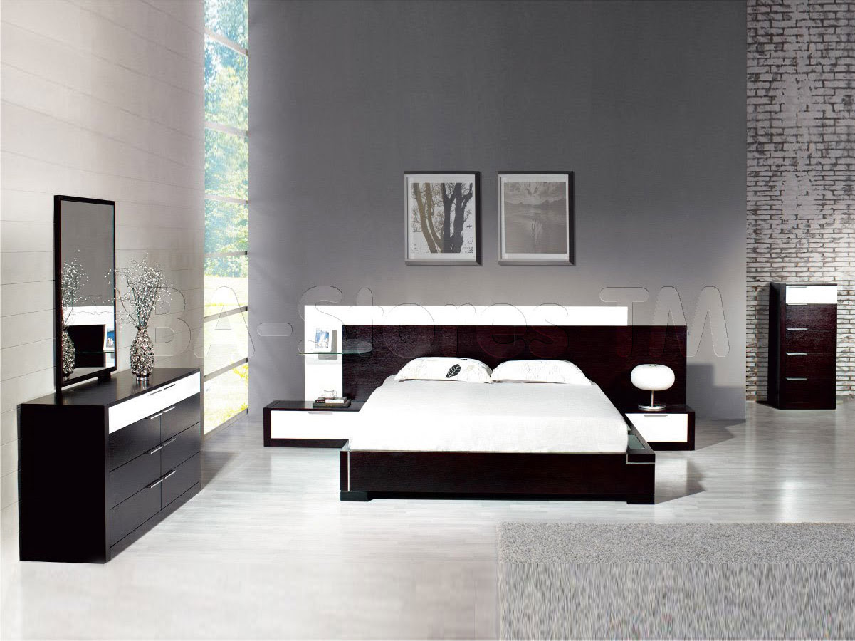 Beautiful Modern Contemporary Bedroom Furniture ...