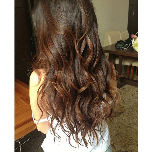 Long Brown Wavy Hair Pictures, Photos, and Images for ...