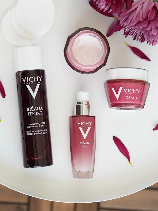 The Vichy Idéalia Skincare Range — On the Glow | A Certain Romance