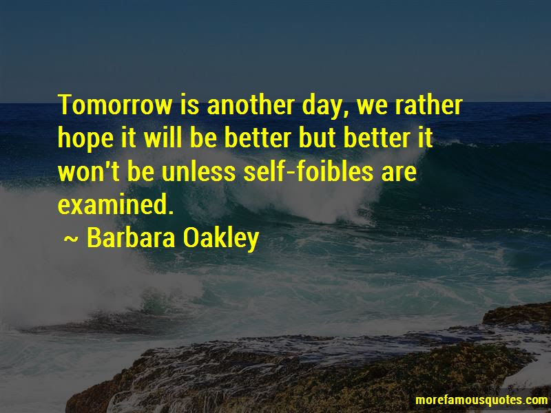 Hope Tomorrow Is A Better Day Quotes Top 6 Quotes About Hope