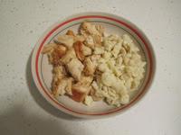 diced chicken with dumplings