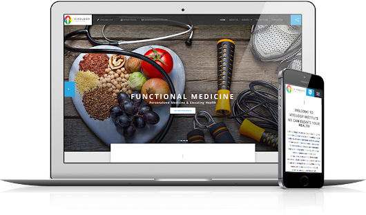 Vitology Institute |  Medical Products Website Design