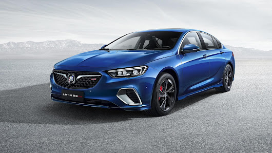 2018 Buick Regal GS Photos Leaked - Motoraty