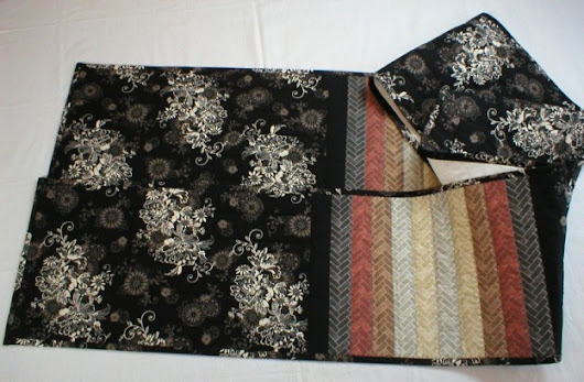 Handmade Quilted Table Runner (12 x 116 inches) |