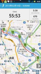 20130210_RunKeeper(Running)map