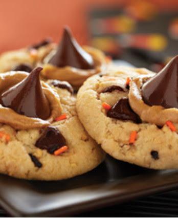 Funfetti Halloween Peanut Butter Cookies