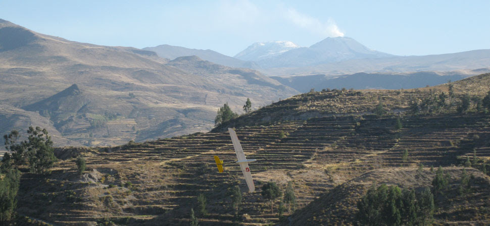 rc soaring at Colca