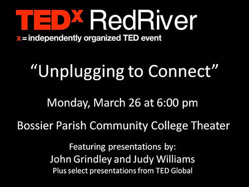 TEDxRedRiver @ BPCC on Mon, Mar 26  by trudeau