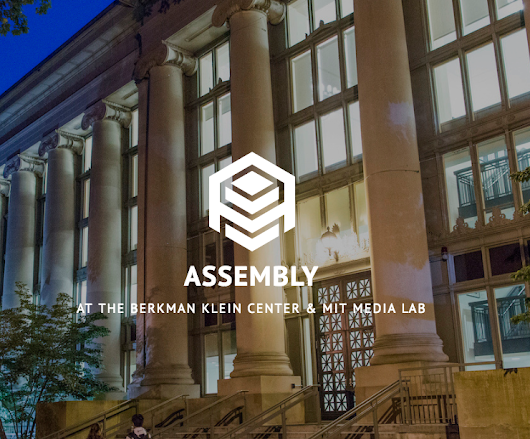 Apply Now to Join Our Assembly Cohort in 2019!