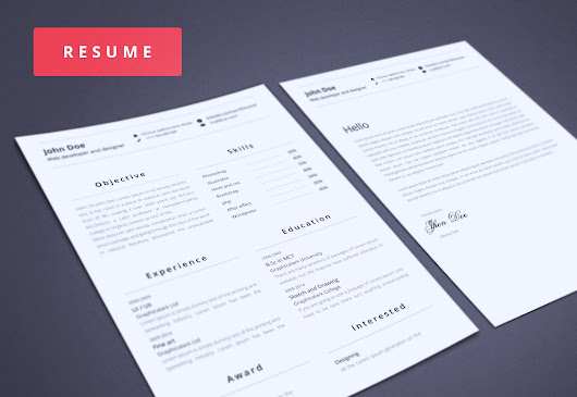 Resumes Templates ~ Resume Templates on Creative Market