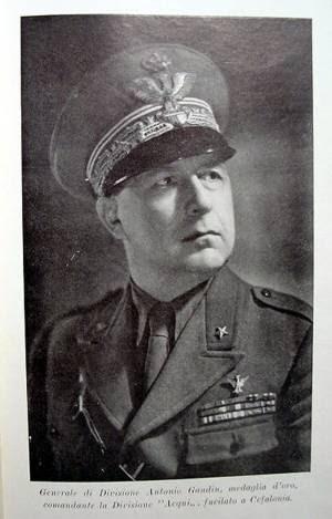 Il generale Antonio Gandin