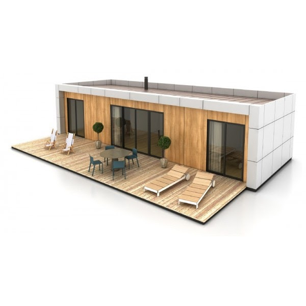 Casas de madera prefabricadas ofertashoyeuropa - Casas prefabricadas opiniones ...