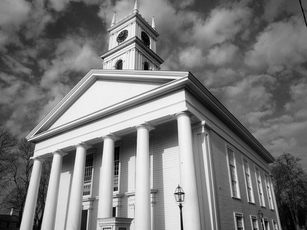 Edgartown, Old Whaling Church, Memorial Wharf, Edgartown Harbor