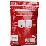 PUMA Men's 3-Pack Boxer Brief, Black, Large