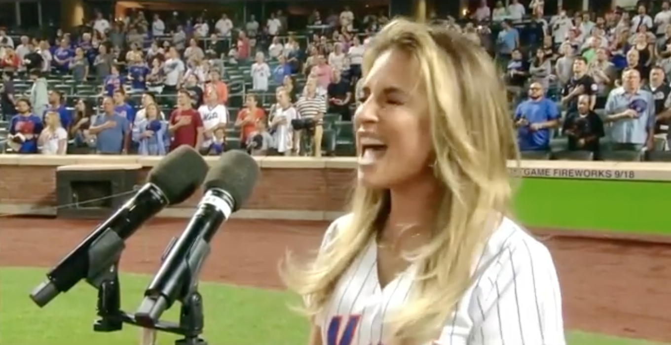 Fans Have a Lot of Feelings About Jessie James Decker's National Anthem Performance