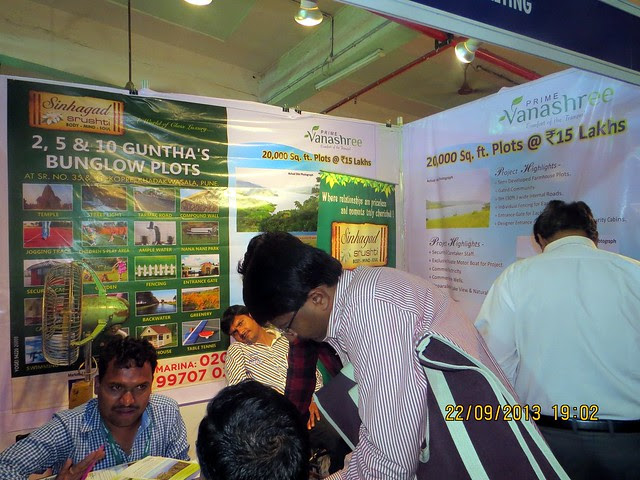 www.sinhagadsrushti.com - Agrowon Green Home Expo 2013 Season 3 - Exhibition of Weekend Homes, 2nd Homes, Farm House Plots, N A Plots & Bungalow Plots  - 21st & 22nd September 2013