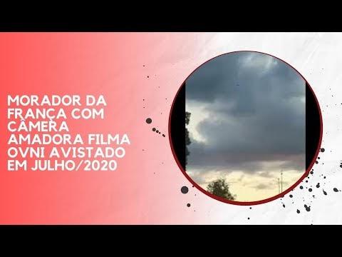 MORADOR DA FRANÇA COM CÂMERA AMADORA FILMA OVNI