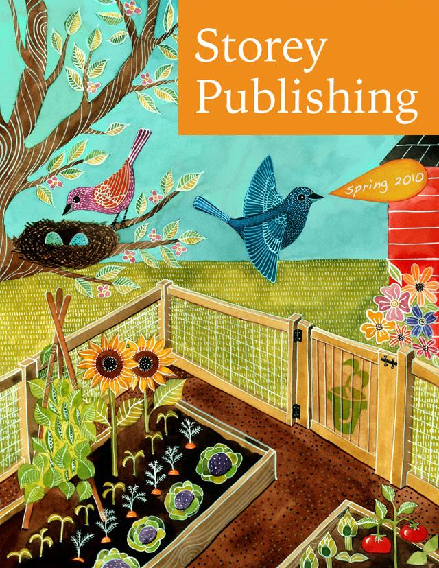 Storey Pubishing Spring 2010 catalog cover