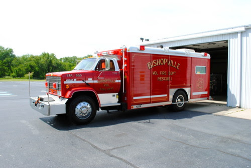 Bishopville Volunteer Fire Department by Lee Cannon