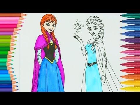 Elsa Boyama Sayfası