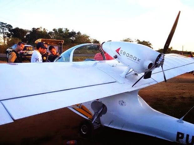 Monomotor BR-101 Bahia 1 (Foto: Acervo Pessoal)