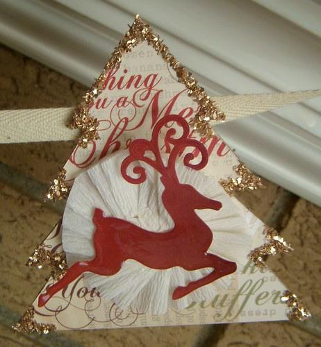 Deer Banner Piece (red)
