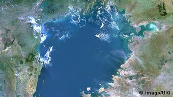 Afrika Viktoriasee Tansa Satellitenbild