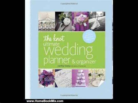 home book review  knot ultimate wedding planner
