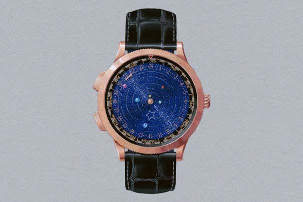 Ρολόι εμπνευσμένο από το πλανητικό σύστημα (3)